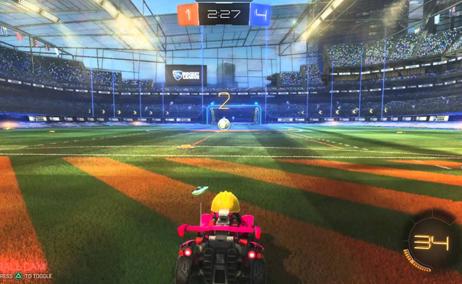 Rocket League pour s'amuser entre amis