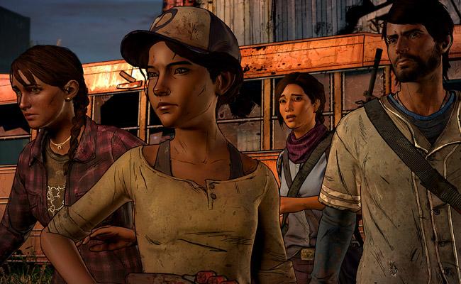 Le jeu PC The Walking Dead
